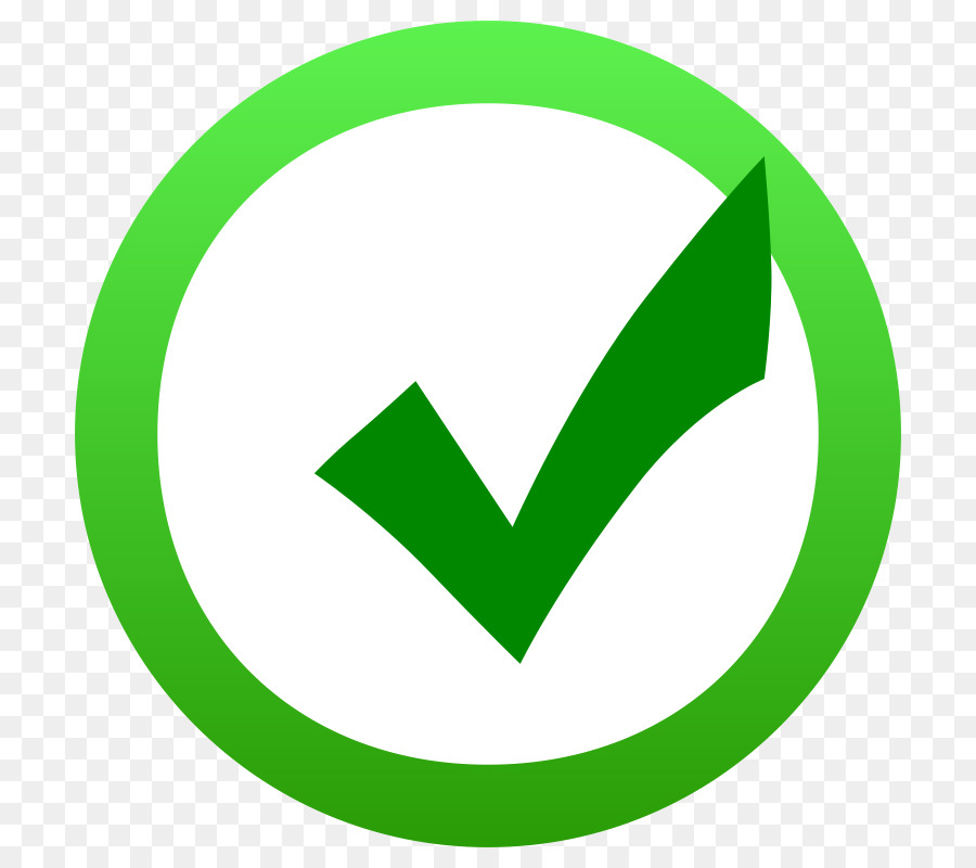 Checkbox Computer Icons Clip art - Green Tick Mark png ...