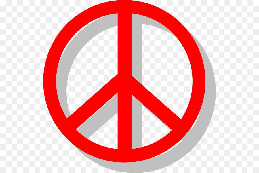 Peace Symbols Clip Art Cartoon Peace Sign Hand Png Download 600