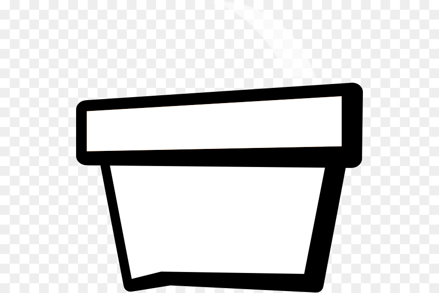 Flowerpot black and white clip art flower pot outline png download flowerpot black and white clip art flower pot outline mightylinksfo