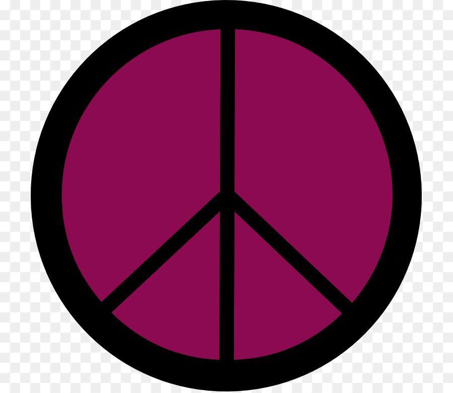 Peace Symbols Hippie Clip Art Flower Power Clipart Png Download