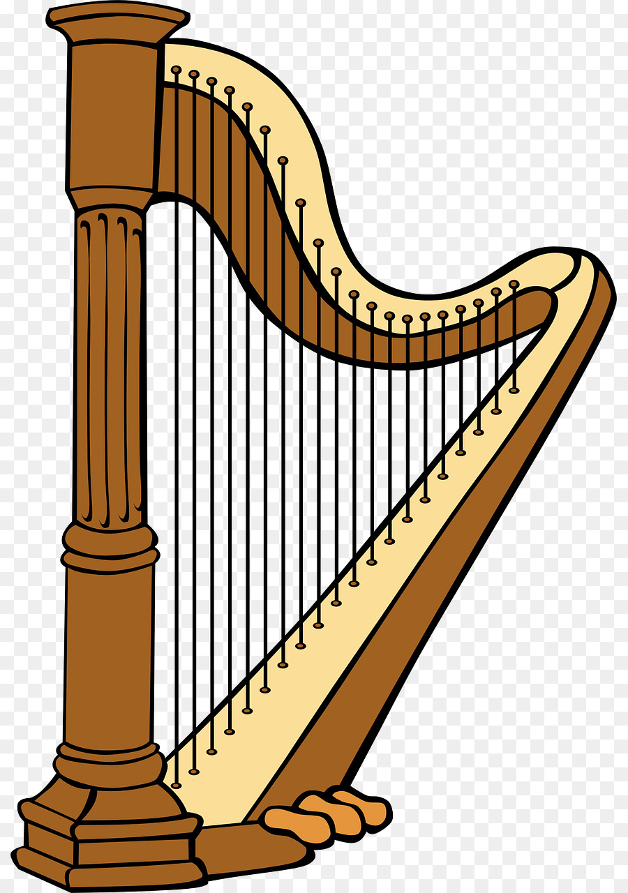 celtic harp clip art musical instruments png download 869 1280 rh kisspng com harp instrument clipart golden harp clipart