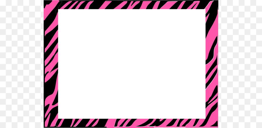 paper zebra animal print clip art zebra border cliparts png rh kisspng com zebra print border clip art free zebra stripe border clip art
