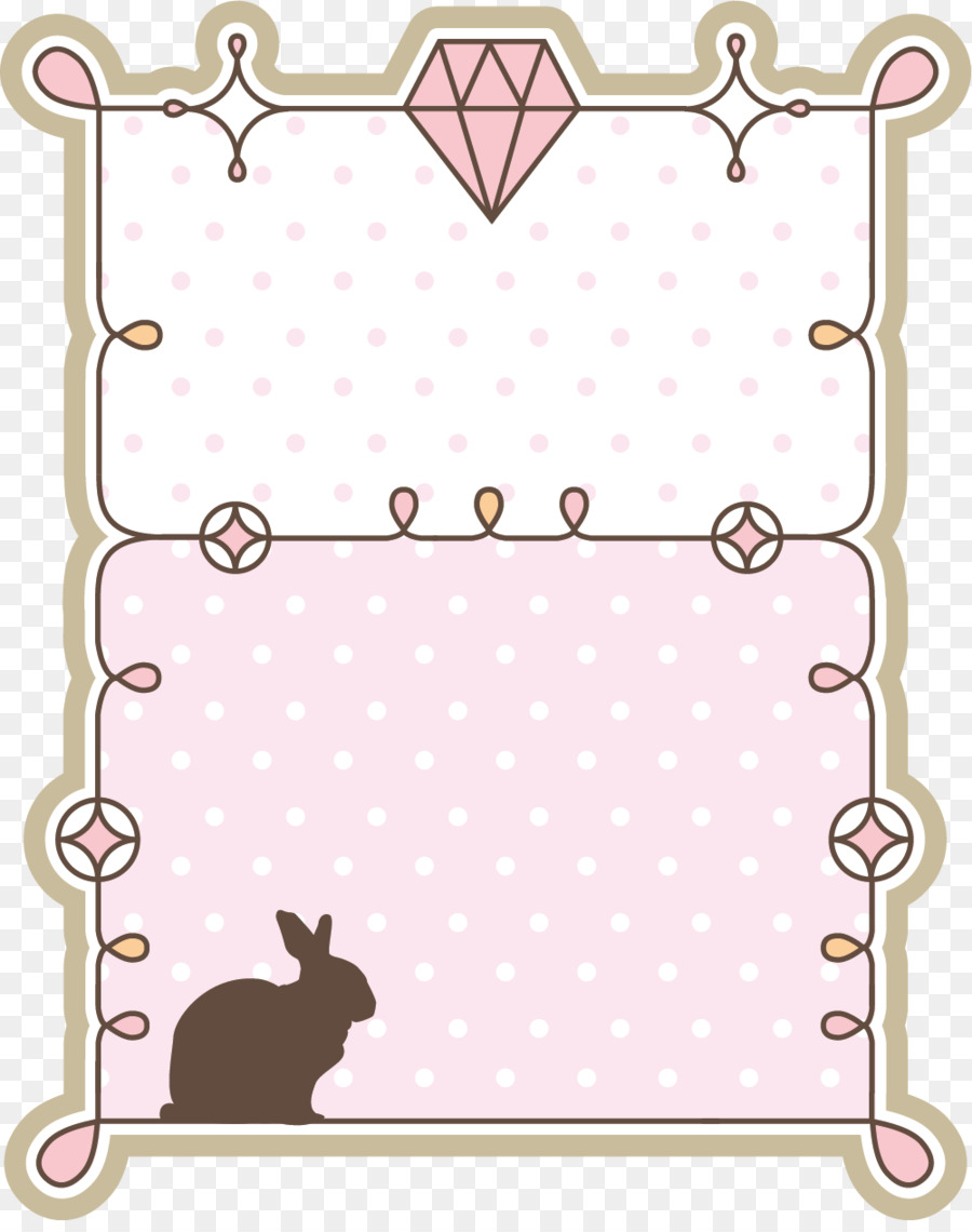 Download Drawing Zip - Pink Diamond Frame png download - 1001*1257 ...