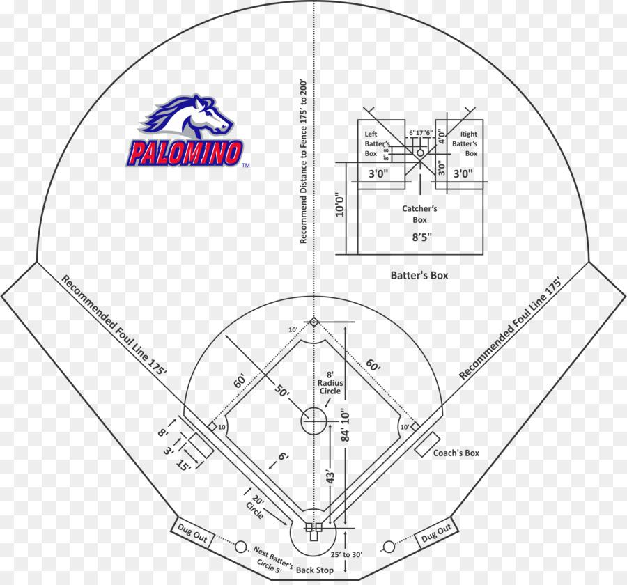 Baseball Field Pony Baseball And Softball Pitch Baseball Rules