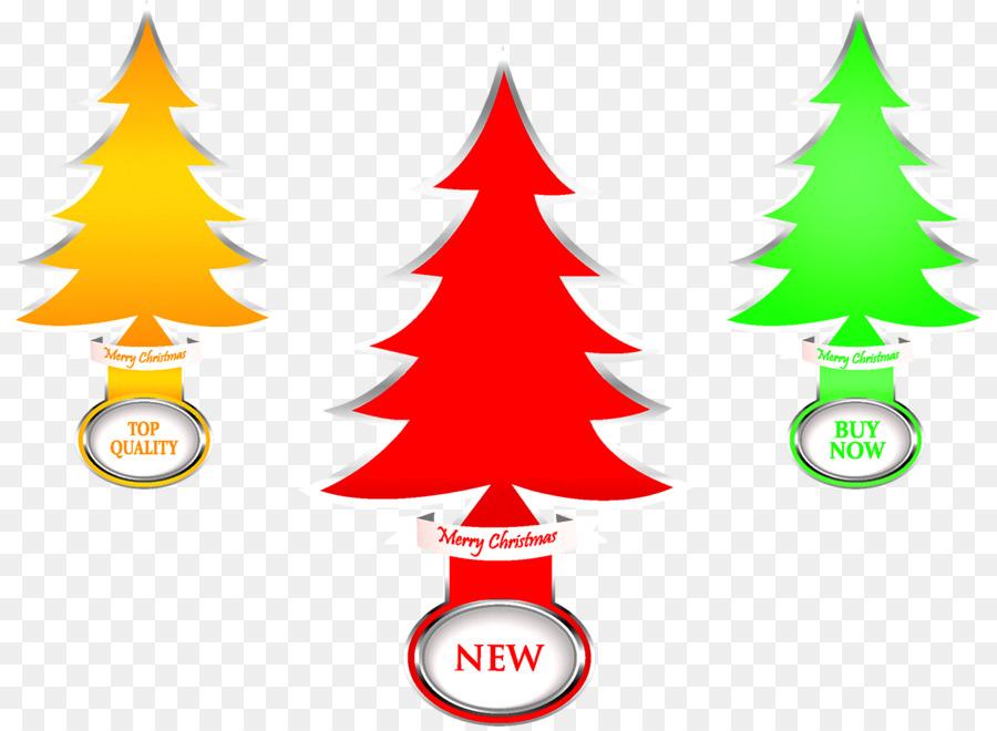 Weihnachten Baum Silhouette-Illustration - Weihnachtsbaum png ...