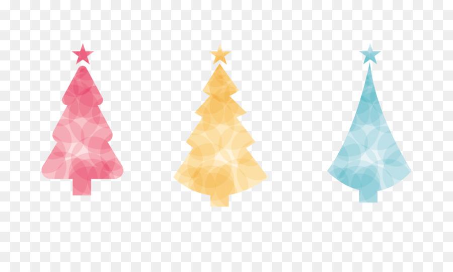 Árbol de navidad Círculo - El Color de la circular de decorar el ...