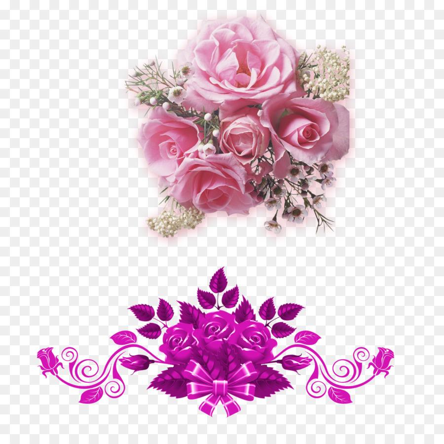 Euclidean vector Flower Clip art - Creative Wedding Flowers png ...