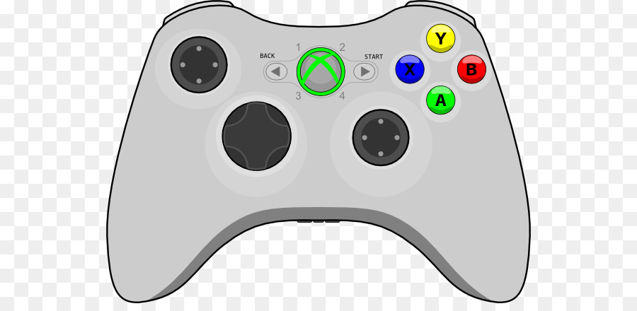 Xbox One Controller Background Png Download 600 429 Free