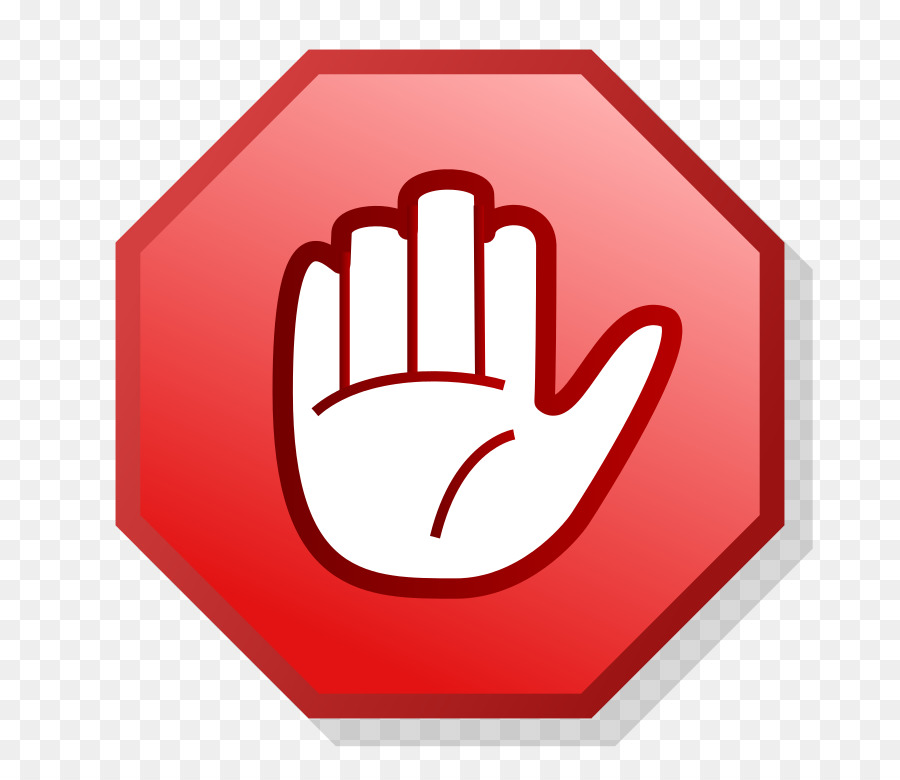 Computer Icons Hand Symbol Clip art - Stop Sign Template png ...