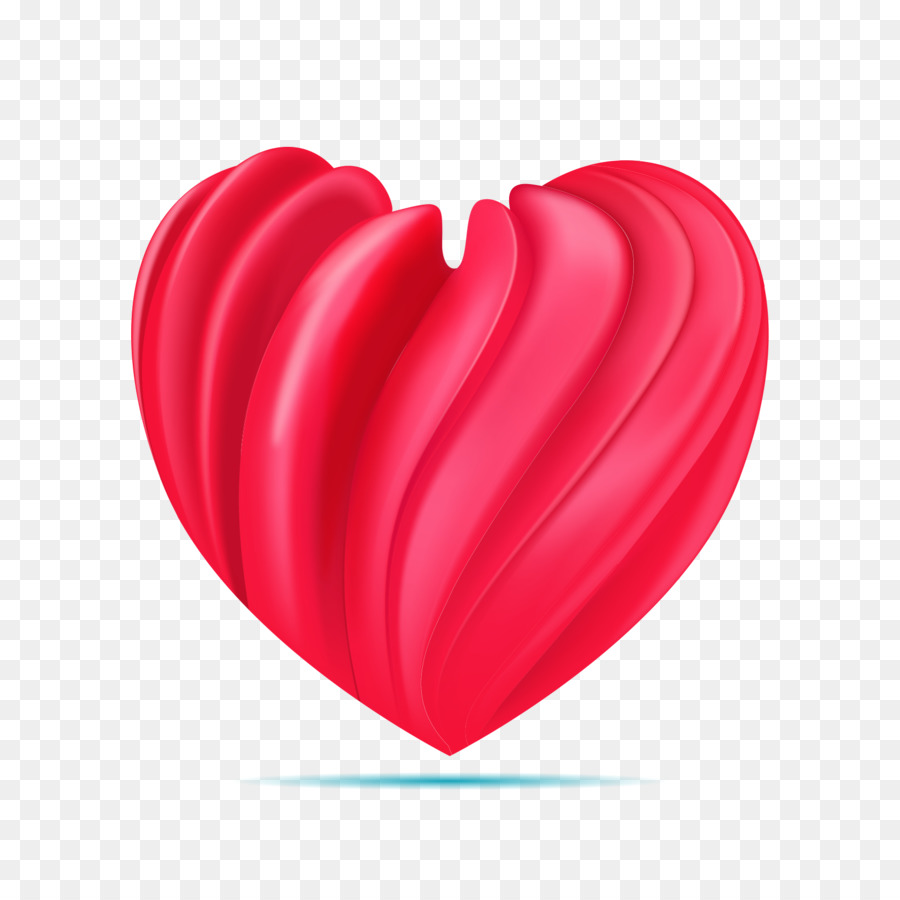 Red Adobe Illustrator Petals Heart Png Download 16671667 Free