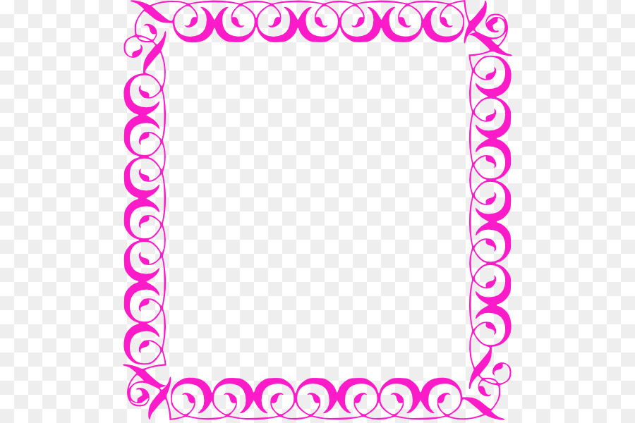 Decorative Borders Borders and Frames Free content Clip art - Girly ...