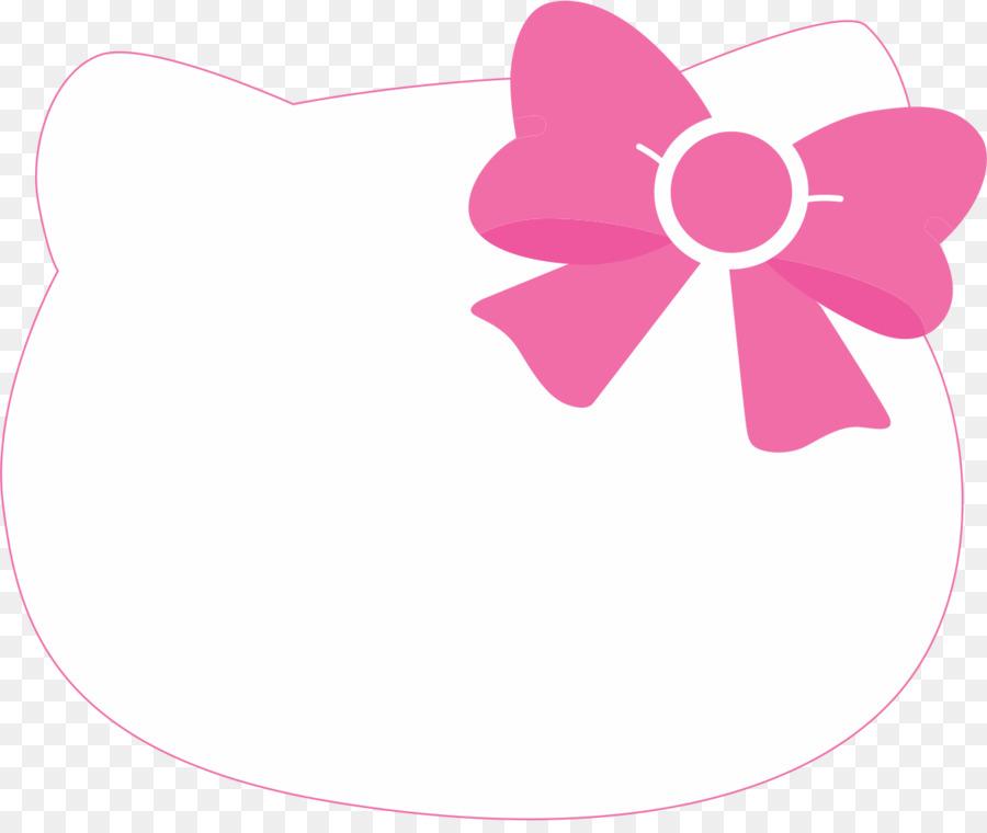 Hello Kitty Wedding Invitation Party Birthday Banner Kitty Head