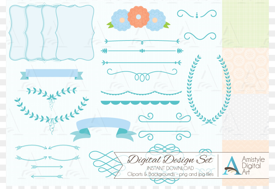 Paper Wedding Invitation Baby Shower Clip Art Baby Shower Border