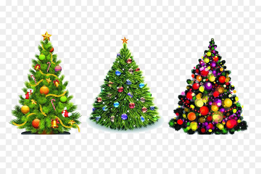 christmas tree christmas ornament clip art colored christmas tree