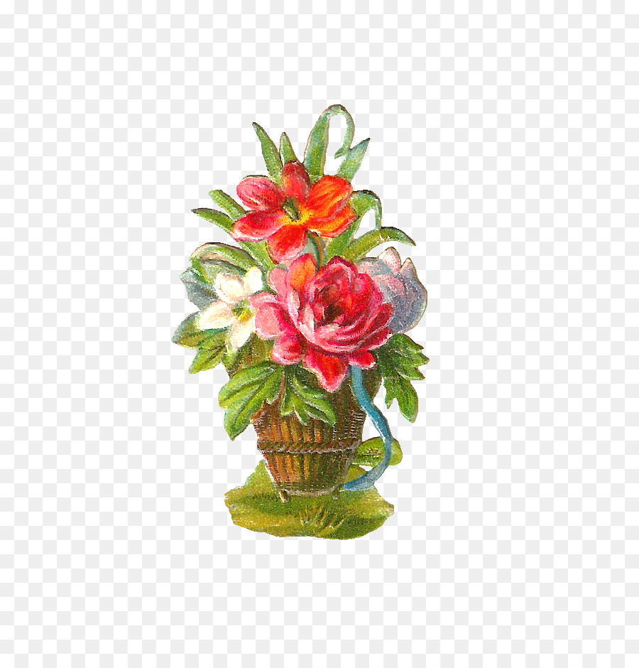 Flower Bouquet Drawing Clip Art Free Digital Graphics Png Download