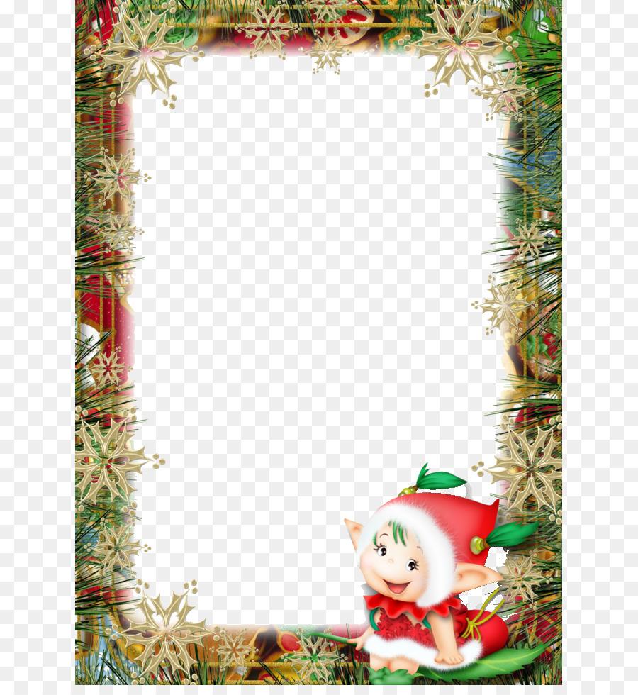 santa claus christmas new year clip art free christmas background pull material - Free Christmas Background