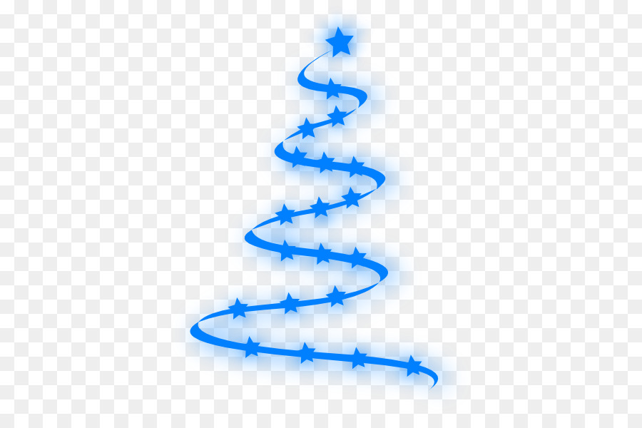 Christmas tree blue. Png download free transparent