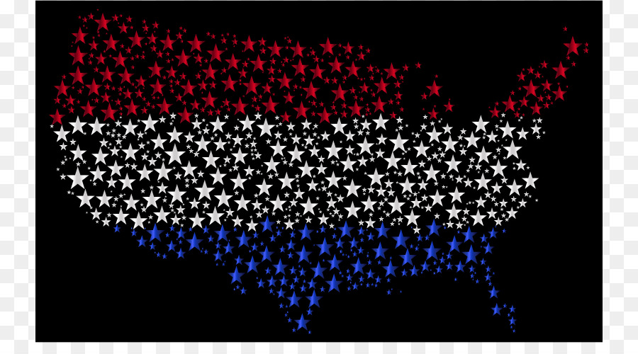 United States Us Presidential Election 2016 Map Popular Vote Flag - Popular-vote-us-map