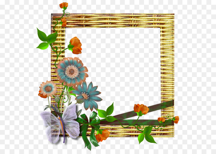Picture Frames Clip art - Bamboo Frame png download - 600*628 - Free ...