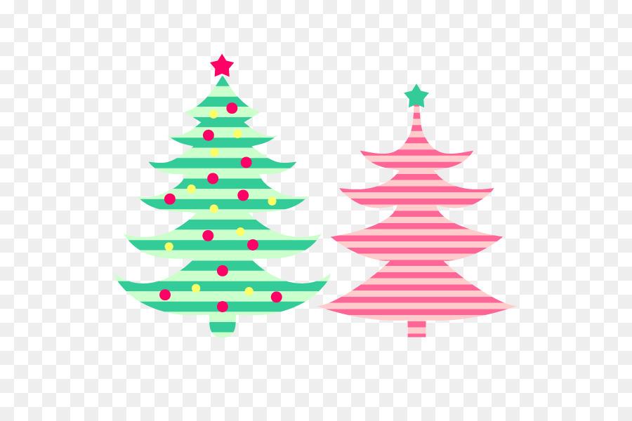Santa Claus árbol de Navidad adornos de Navidad - Color Simple árbol ...
