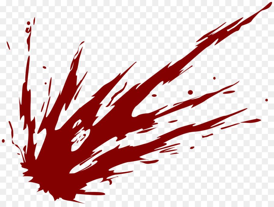 Blood Drawing Clip Art Blood Splatter Png Png Download 1600 1201