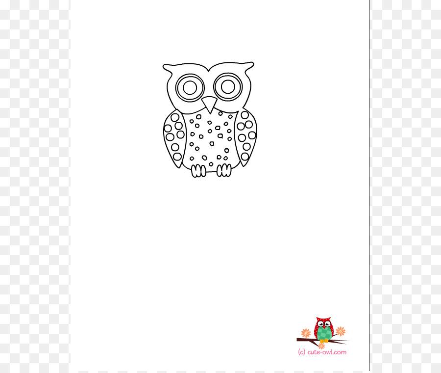 Búho de Bebés para Colorear libro el Pequeño búho Clip art - bebé ...