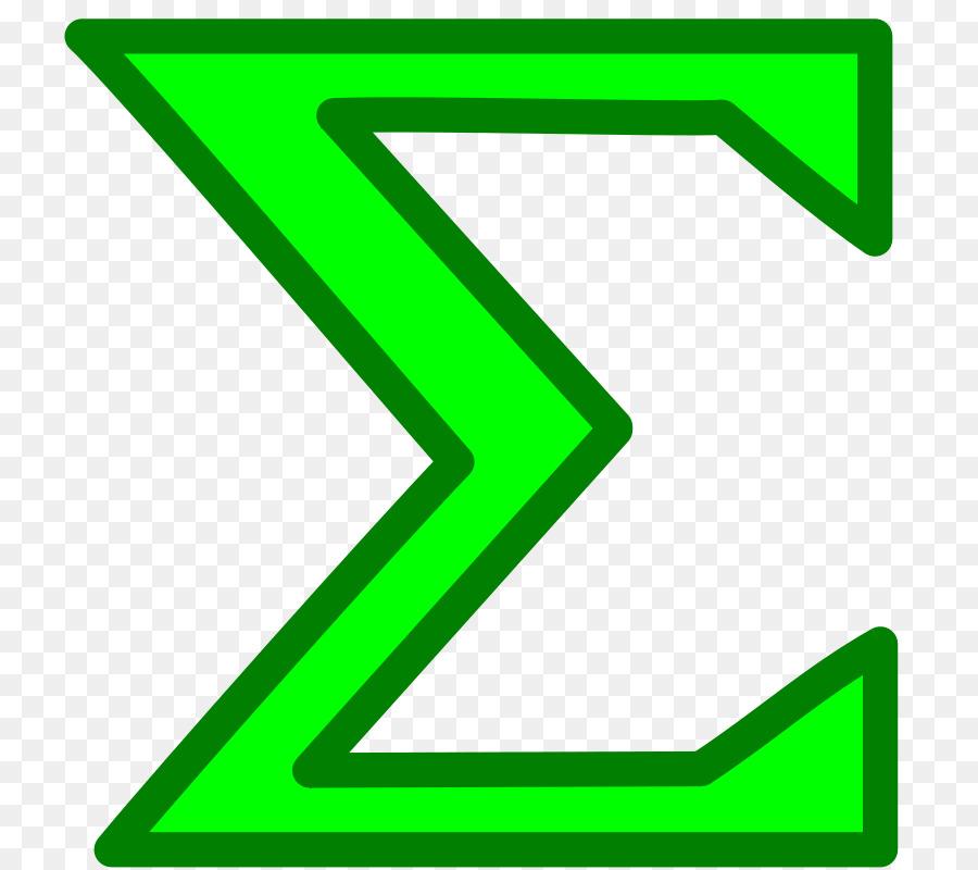Mathematical Notation Mathematics Summation Symbol Clip Art Math