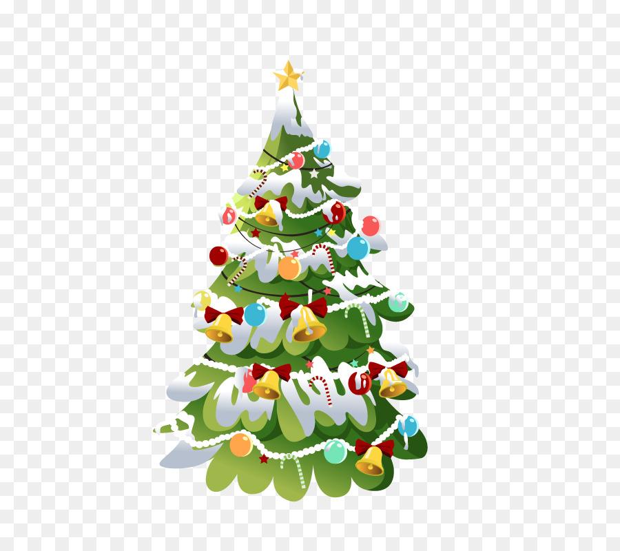 New Year Santa Claus Christmas Tree Desktop Wallpaper