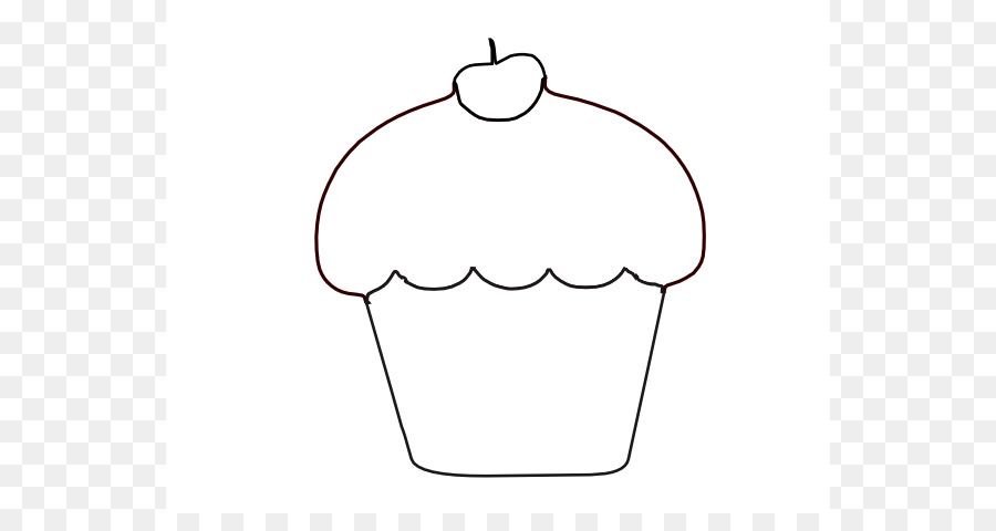 cupcake outline stuffing clip art cupcake silhouette png download rh kisspng com Cupcake Outline Template Plain Cupcake Outline