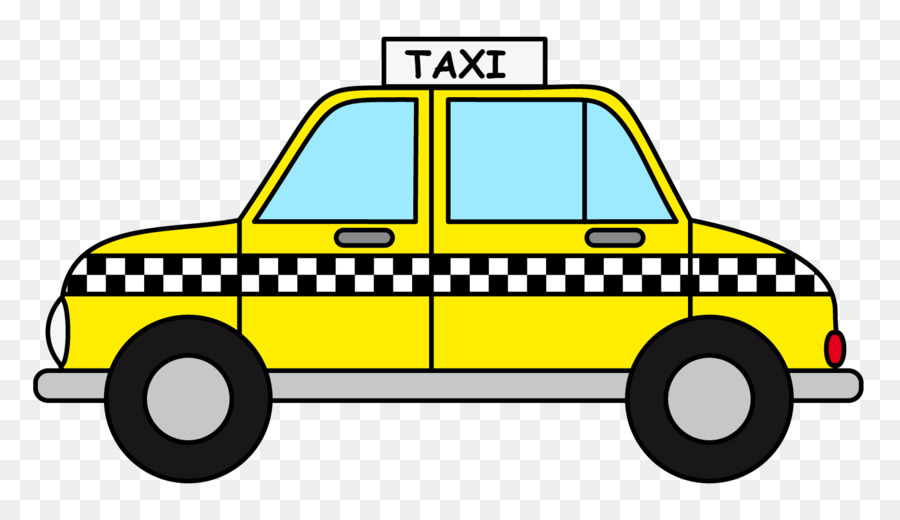 Manhattan Taxicabs Of New York City Yellow Cab Clip Art