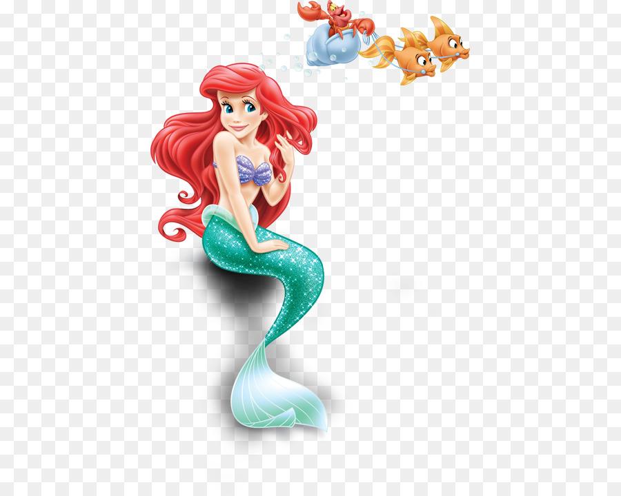 Ariel Sebastian The Little Mermaid Clip Art