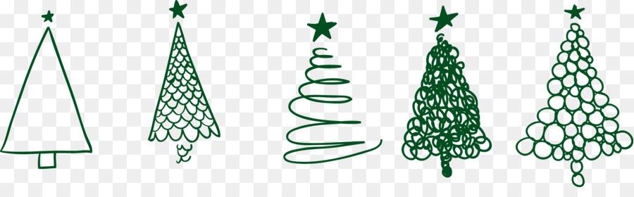 Drawing Christmas Tree Sketch Christmas Tree Png Download 2244