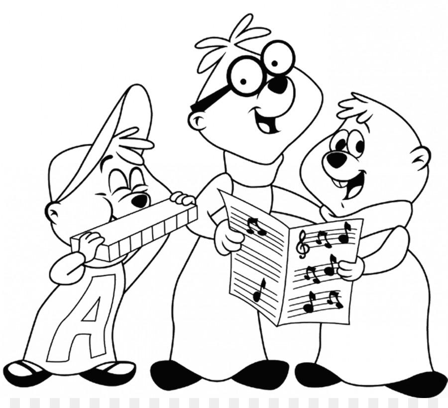 Alvin E I Chipmunks Libro Da Colorare Cantare Le Chipettes Dormire