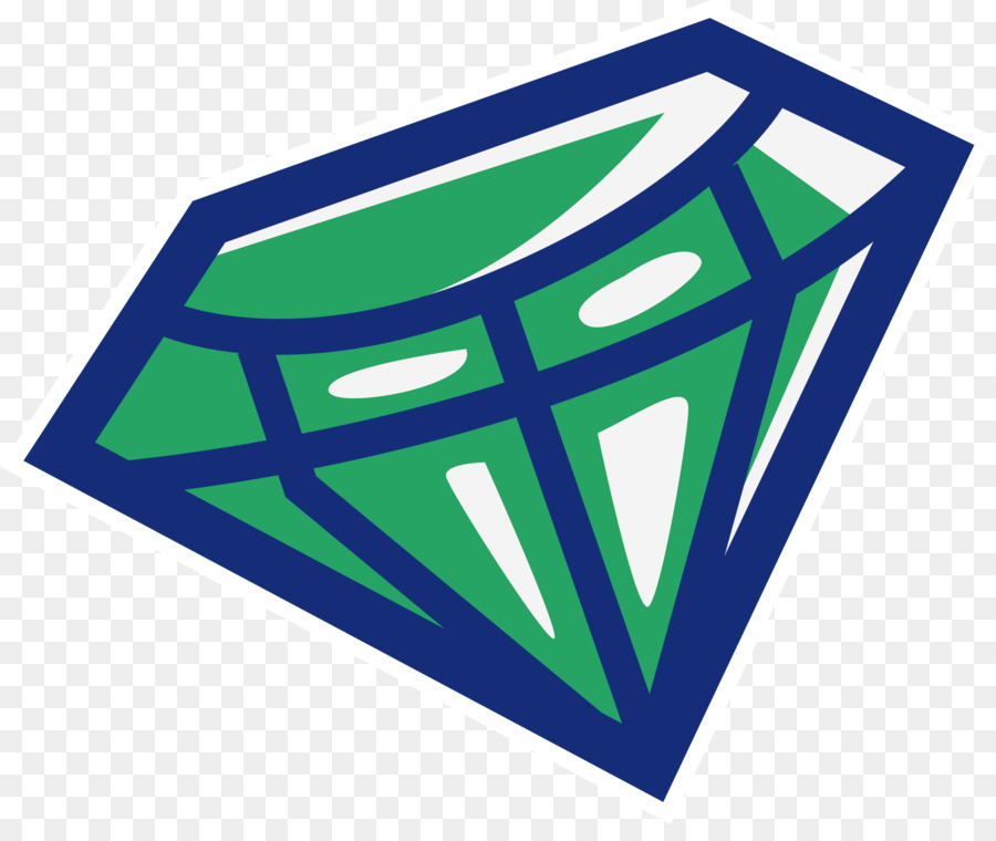 Green Diamond Painting Vector Green Hand Painted Diamond Png