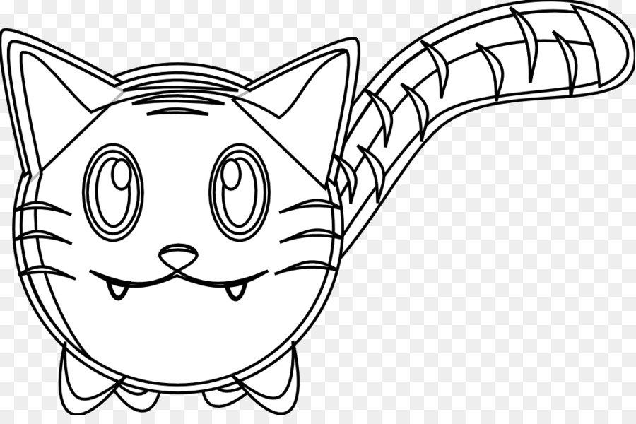 Whiskers Tiger Line Art Black And White Drawing   Tiger Vector Art