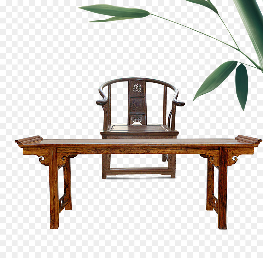 Table Chinoiserie Chair Furniture Fengmu - Home antiquity - Table Chinoiserie Chair Furniture Fengmu - Home Antiquity Png