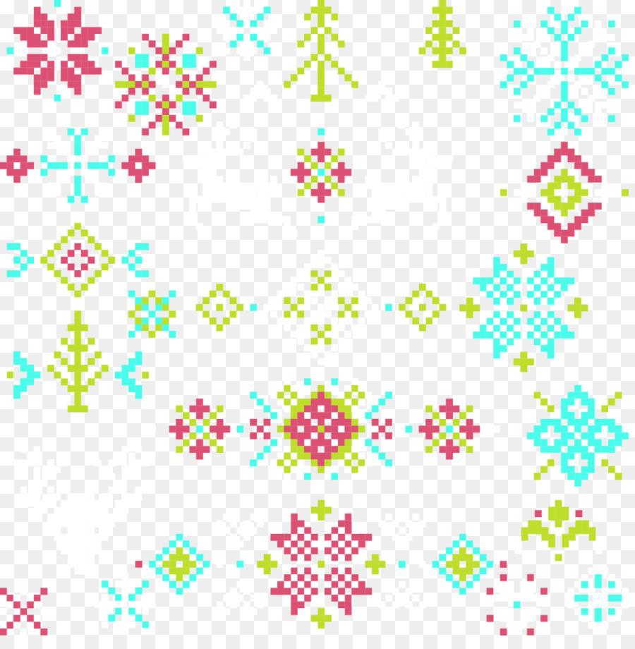 christmas pattern vector christmas cross stitch pattern effect - Free Christmas Cross Stitch Patterns