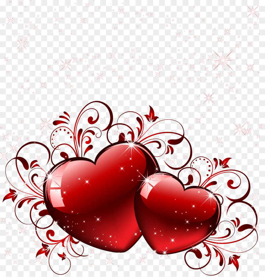 Heart Computer Icons Love Vector Red Hearts Png Download 1097