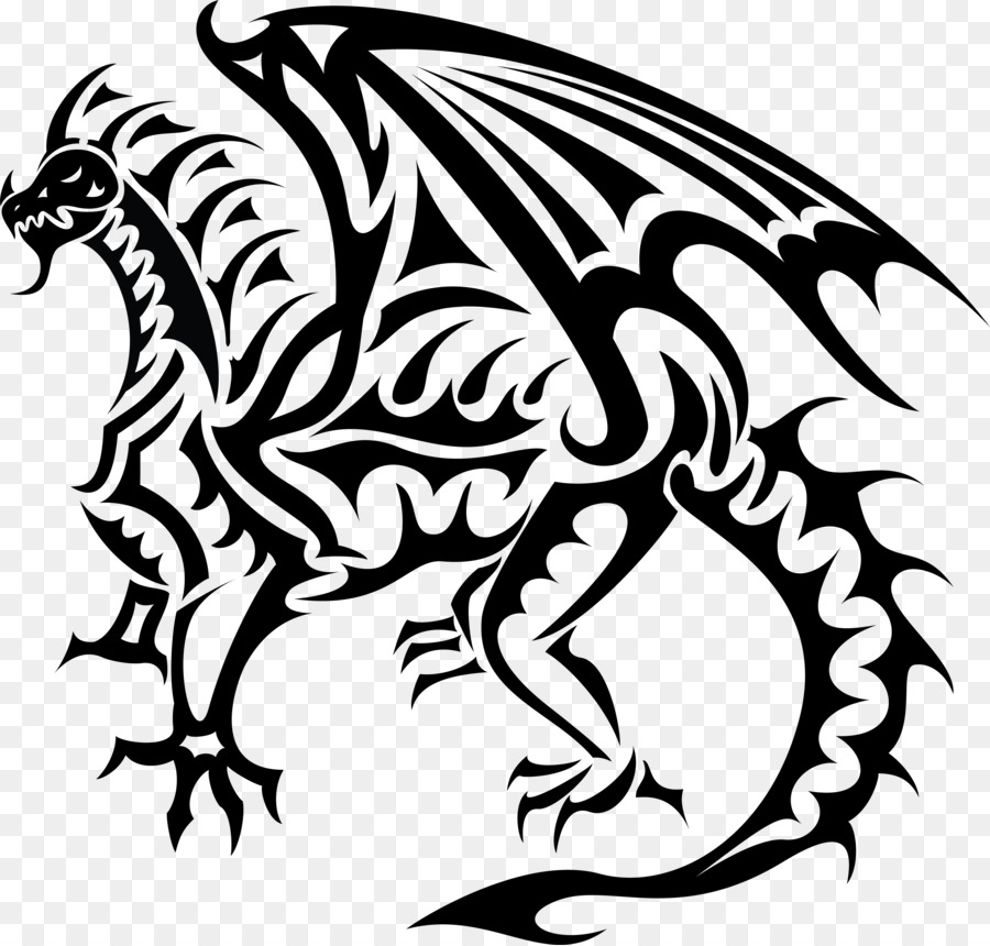 dragon clip art dragon vector free png download 3869 3691 free