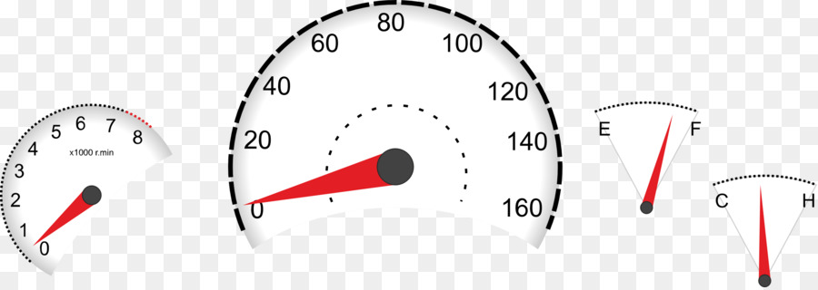 car dashboard speedometer clip art
