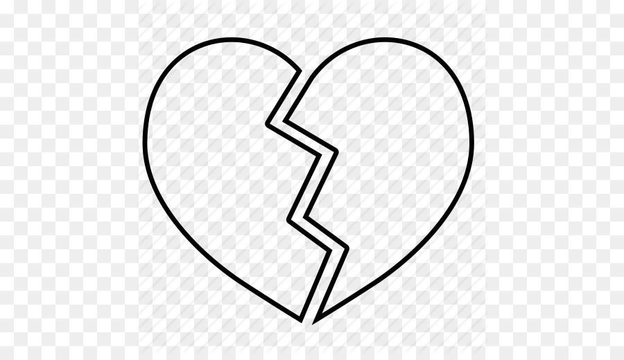 Broken heart Coloring book Drawing Clip art - Heart Halves Cliparts ...