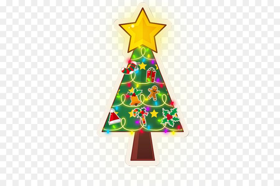 Árbol de navidad de Santa Claus Fiesta de Año Nuevo saludos ...