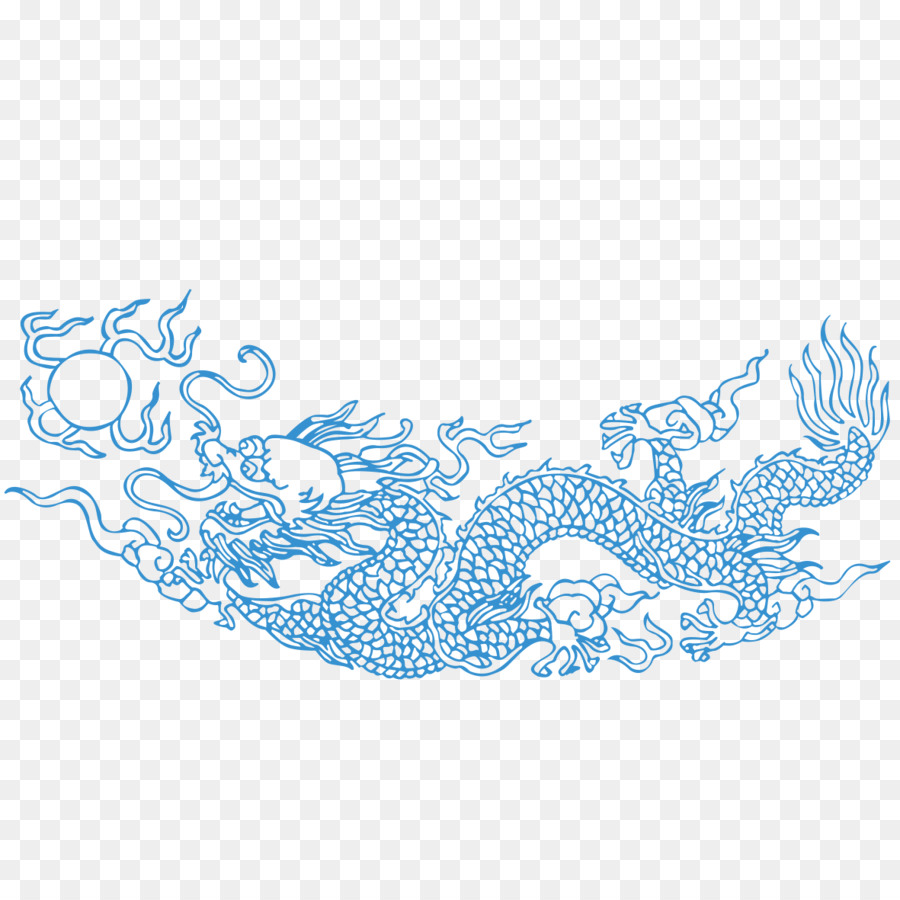 Dragon Blue png download - 1181*1181 - Free Transparent Dragon png