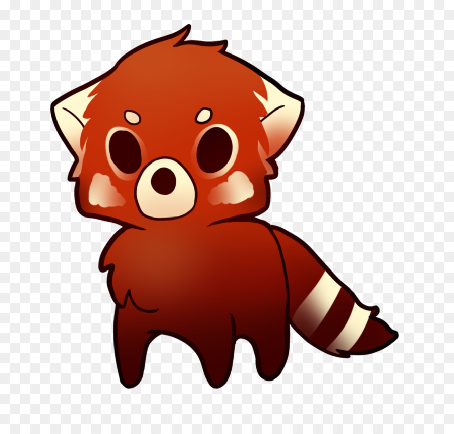 Red Panda Giant Cartoon Drawing Clip Art