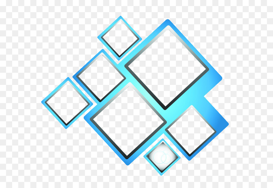 Blue Square Blue Box Vector Png Download 696 617 Free