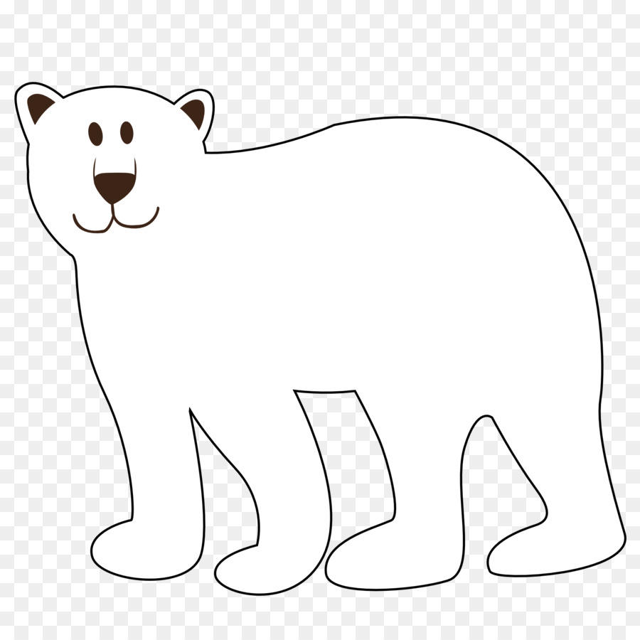 polar bear american black bear brown bear giant panda free polar rh kisspng com panda bear clipart black and white free bear clipart black and white