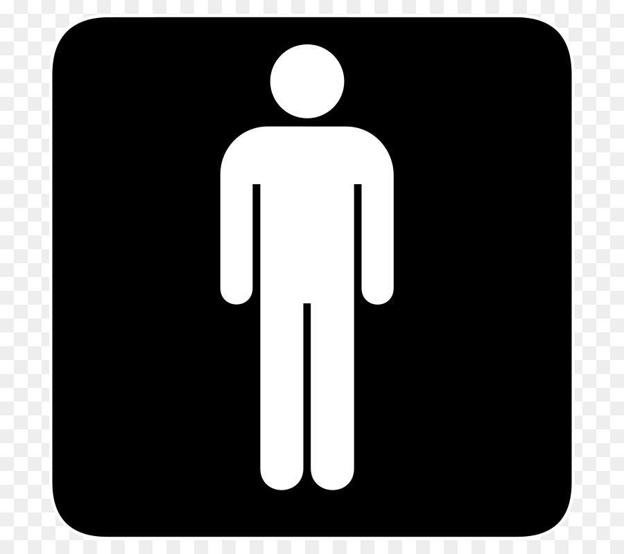 Bathroom Public Toilet Male Clip Art Ladies Bathroom Sign Png - Male bathroom sign