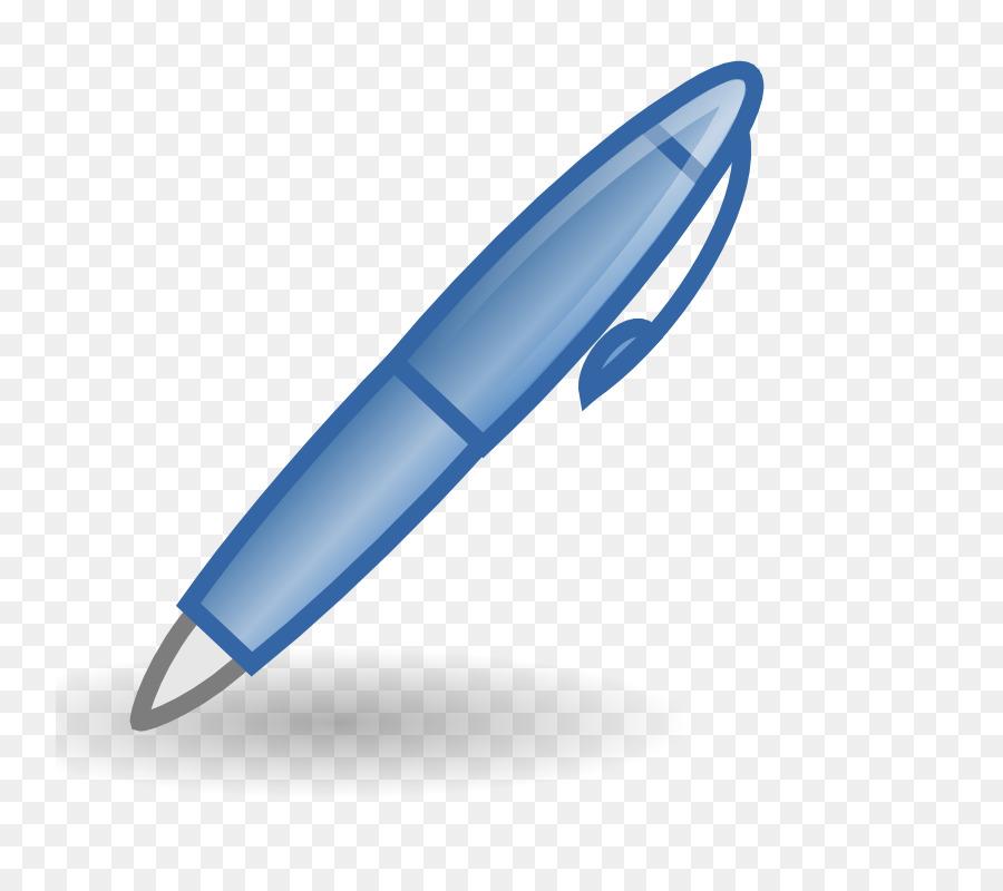 Paper Fountain Pen Ballpoint Clip Art