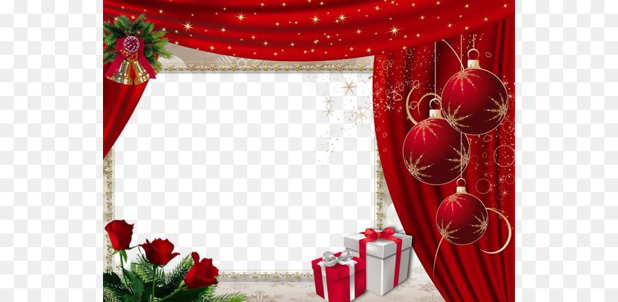 Marcos De Fotos De Navidad De Moldeo - Rojo de la Navidad de la ...