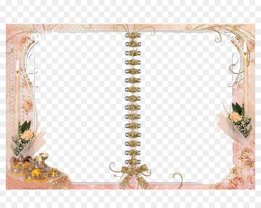 Picture Frames Wedding - Borders book png download - 1072*850 - Free ...